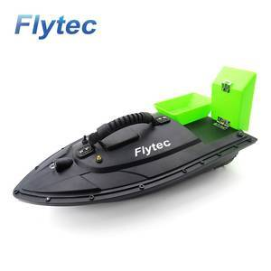 Flytec 2011-5 Lure Fish Finder 1.5kg Loading 500M Remote Bait Boat For Delivery, Fishing Tackle Smart RC Boat