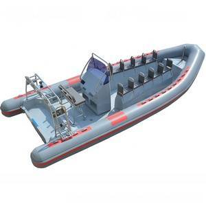 China factory supply small rilaxy Rigid hull 7m inflatable rib boat 700 for sale
