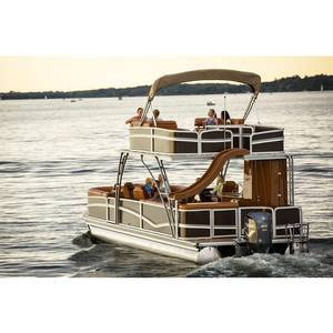 RTS Kinlife Luxury  Sightseeing party barge tritoon pontoon boats