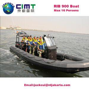 Hypalon 900 military Rib Boats Rigid Inflatable Boat China