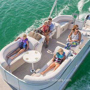 8 Person Pontoon Party Boat With Seats