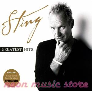 STING GREATEST HITS INCL. 57TH & 9TH 2 CD SET IN DIGIPAK Police Dire Straits New