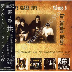 DAVE CLARK FIVE COMPLETE HISTORY VOL. 5 CD MINI LP OBI DC5 new sealed