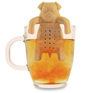 1Piece Tea Strainers Pug In A Mug Silicone Tea Infuser Kawai Portable Dog Tea St