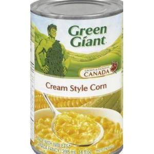 Green Giant Creamed Canned Corn Grown and Packed in Canada 12 cans