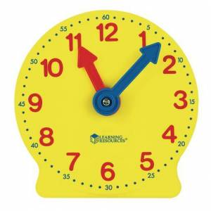 Learning Resources® Big Time Teaching Clock