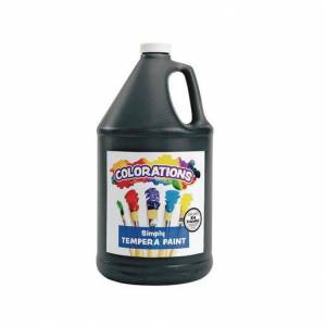 Colorations® Simply Tempera Paint, Black - 1 Gallon