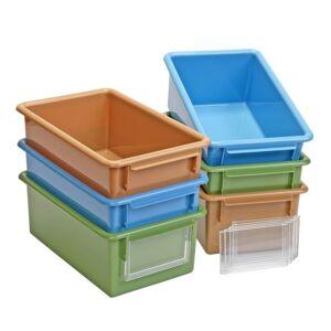 MyPerfectClassroom™ Easy Label Bin Set of Six
