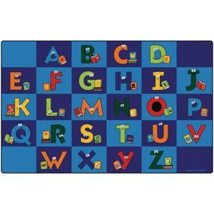 "Carpets for Kids® Reading Letters 8'4"" x 13'4"" Rectangle Premium Carpet"