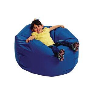 "Children's Factory® 35"" Deluxe Beanbag - Blue"