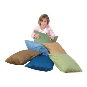 "Children's Factory® 17"" Cozy Woodland Floor Pillows - Set of 6"