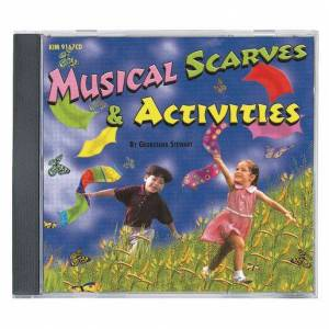 KIMBO® Educational Musical Scarves & Activities CD