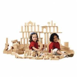 Jonti-Craft™ 170 Maple Blocks, 21 Shapes