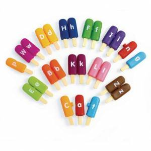Learning Resources® Smart Snack® Alpha Pops - 26 Pieces