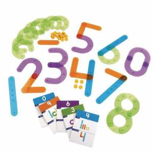 Learning Resources® Number Construction Set - 55 Pieces
