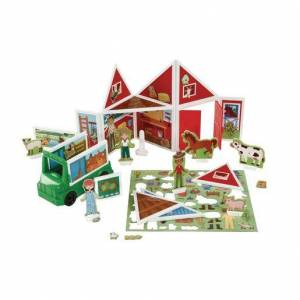 Melissa & Doug ® Magnetivity Magnetic Building Play Set 102-Pieces Farm