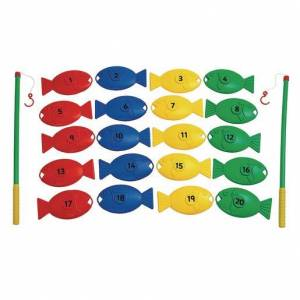 Educational Advantage™ Giant Fishing Set Numbers 22 Pieces