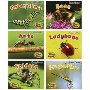 Capstone® Creepy Critters Paperback Books - 6 Titles