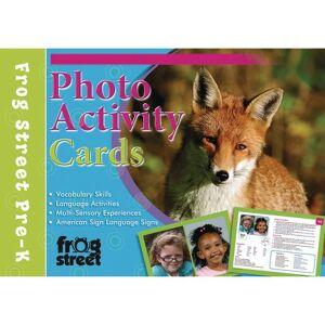 Frog Street Press Photo Activity Cards Preschool