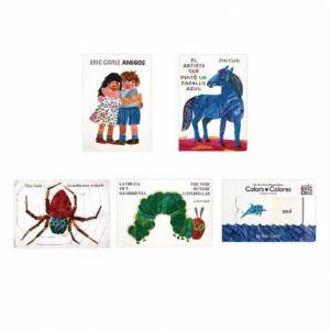 Penguin Random House Eric Carle Spanish Board Book Set of 5