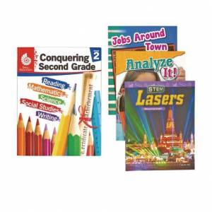Shell Education Conquering Second Grade, 4-Book Set