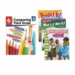 Shell Education Conquering Third Grade, 4-Book Set