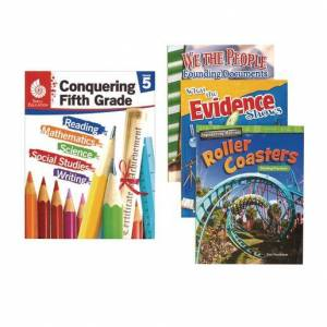Shell Education Conquering Fifth Grade, 4-Book Set