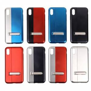Left and Right Splicing Electroplated Phone Cover