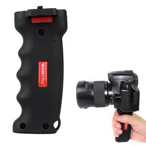 "Wide Platform Pistol Grip Camera Handle with 1/4"" Screw"