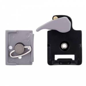 Camera 323 Quick Release Clamp Adapter  + Quick Release Plate Compatible