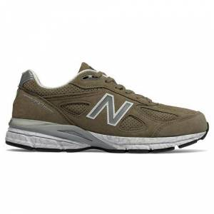 New Balance 990v4 Men's Running Shoe Covert Green M990CG4