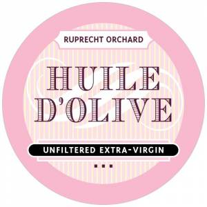 Evermine Custom Circle Labels - Pale Pink - French Market