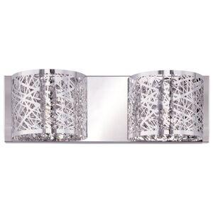 ET2 Lighting Inca 15 Inch 2 Light Bath Vanity Light Inca - E21315-10PC/BUL - Modern Contemporary