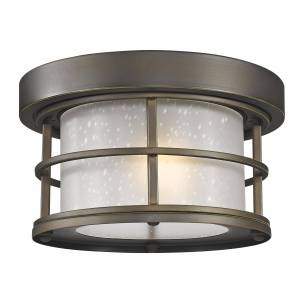 Z-Lite Exterior Additions 10 Inch Outdoor Flush Mount Exterior Additions - 556F-ORB - Nautical
