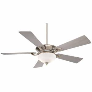 Minka Aire Delano 52 Inch Ceiling Fan with Light Kit Delano - F701-PN - Traditional