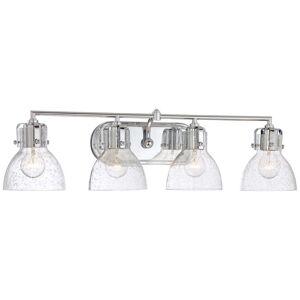 Minka Lavery Transitional 31 Inch 4 Light Bath Vanity Light Transitional - 5724-77 - Transitional