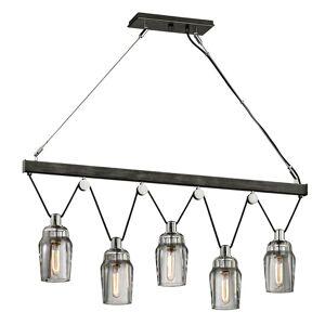 Troy Lighting Citizen 44 Inch 5 Light Linear Suspension Light Citizen - F5995 - Industrial