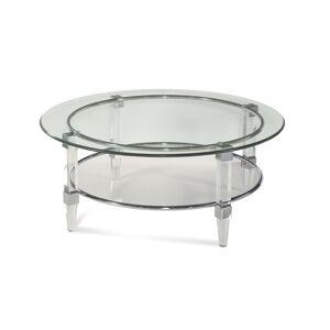 Bassett Mirror Company Cristal Coffee Table Cristal - 2929-120EC - Modern Contemporary