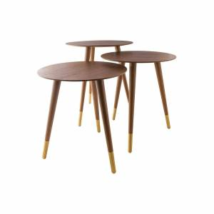 Sterling Industries Jetset Accent Table Jetset - 1572-009-S3 - Modern Contemporary