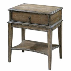 Uttermost Hanford End Table Hanford - 24312 - Traditional