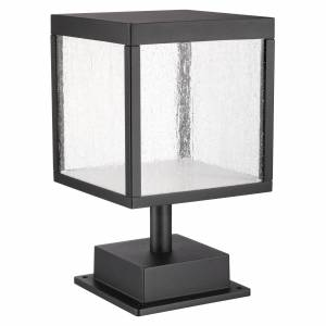 Access Lighting Reveal 13 Inch Tall 1 Light LED Outdoor Pier Lamp Reveal - 20082LED-BL/SDG - Modern Contemporary