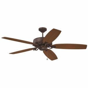 Craftmade Patterson 64 Inch Ceiling Fan with Light Kit Patterson - PAT64ABZC5 - Traditional