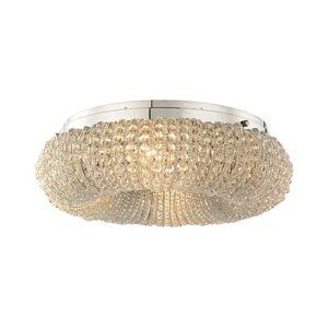 ELK Lighting Crystal Ring 19 Inch Tall 4 Light Outdoor Post Lamp Crystal Ring - 45290-4 - Modern Contemporary