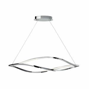 Elan Lighting MERIDIAN 14 Inch 1 Light LED Linear Suspension Light MERIDIAN - 83385 - Whimsical