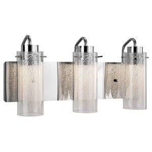 Elan Lighting KRYSALIS 9 Inch 3 Light LED Bath Vanity Light KRYSALIS - 83771 - Transitional