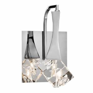 Elan Lighting ROCKNE 9 Inch LED Wall Sconce ROCKNE - 83775 - Crystal
