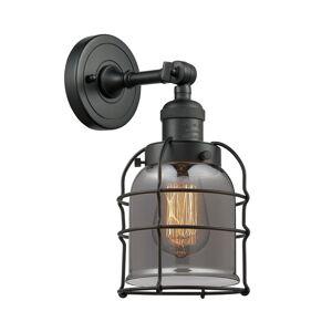 Innovations Lighting Bruno Marashlian Bell Cage 12 Inch Wall Sconce Bell Cage - 203-BK-G53-CE-LED - Restoration-Vintage