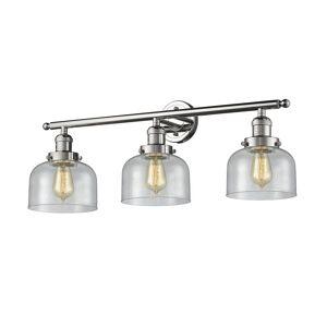 Innovations Lighting Bruno Marashlian Large Bell 32 Inch 3 Light LED Bath Vanity Light Large Bell - 205-PN-G74-LED - Restoration-Vintage
