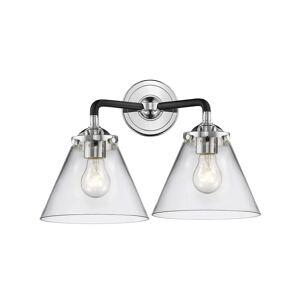 Innovations Lighting Bruno Marashlian Cone 15 Inch 2 Light Bath Vanity Light Cone - 284-2W-BPN-G42 - Transitional