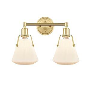 Innovations Lighting Bruno Marashlian Luna 18 Inch 2 Light Bath Vanity Light Luna - 422-2W-SB-G4221-7 - Nautical